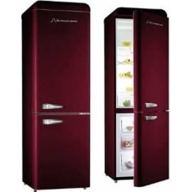 refrigerateur combi schaub lorenz 300l 209l 91l bordeaux a. Black Bedroom Furniture Sets. Home Design Ideas