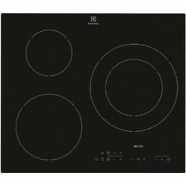 plaque induction electrolux 3 foyers noire. Black Bedroom Furniture Sets. Home Design Ideas