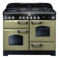 CLASSIC DELUXE 110 VERT OLIVE CHROME