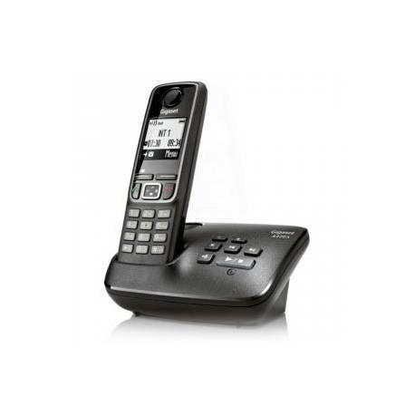 TELEPHONE SANS FIL GIGASET SOLO AVEC REPONDEUR Noir