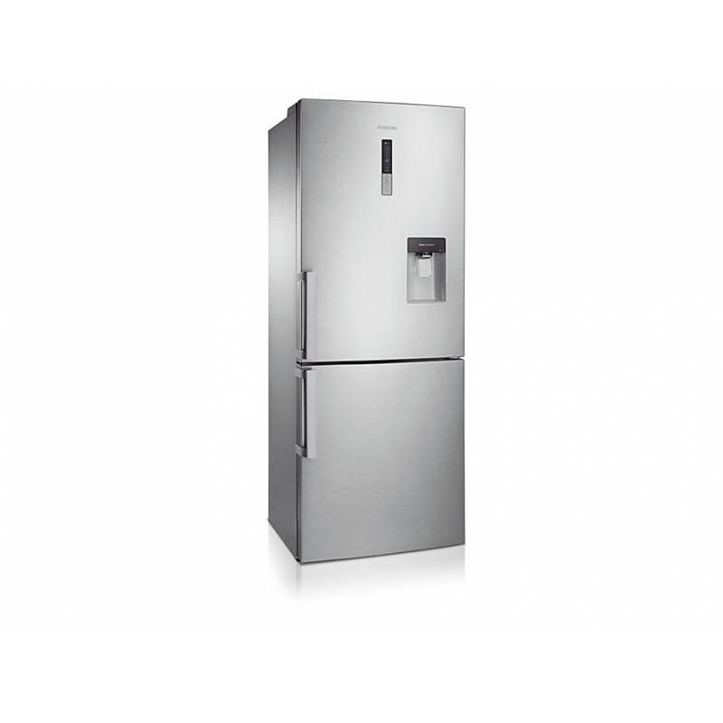 refrigerateur combi samsung 432l 300l 132l 70 cm no frost inox a. Black Bedroom Furniture Sets. Home Design Ideas
