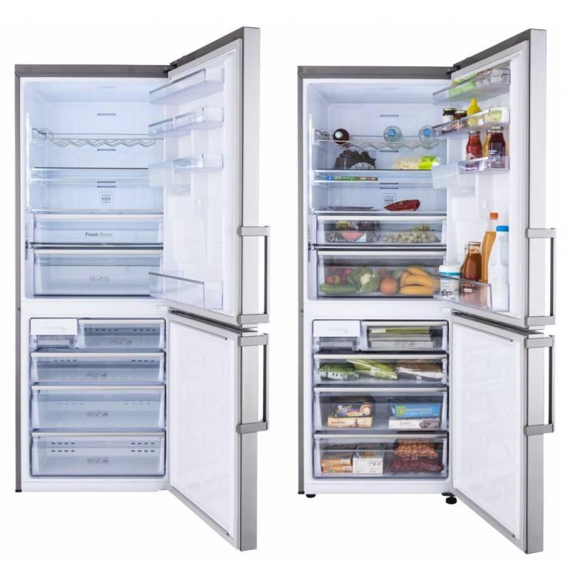 refrigerateur combi samsung 432l 300l 132l 70 cm no. Black Bedroom Furniture Sets. Home Design Ideas