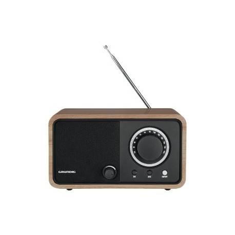 RADIO DE SALON GRUNDIG FM TUNER ANALOGIQUE 5W SECTEUR CHENE