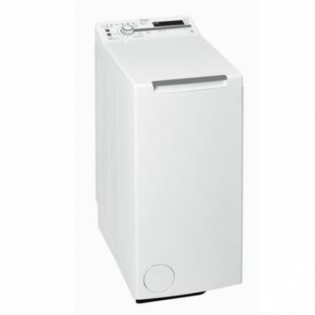 LAVE LINGE TOP WHIRLPOOL 6.5 KG 1200T A+++B BLANC