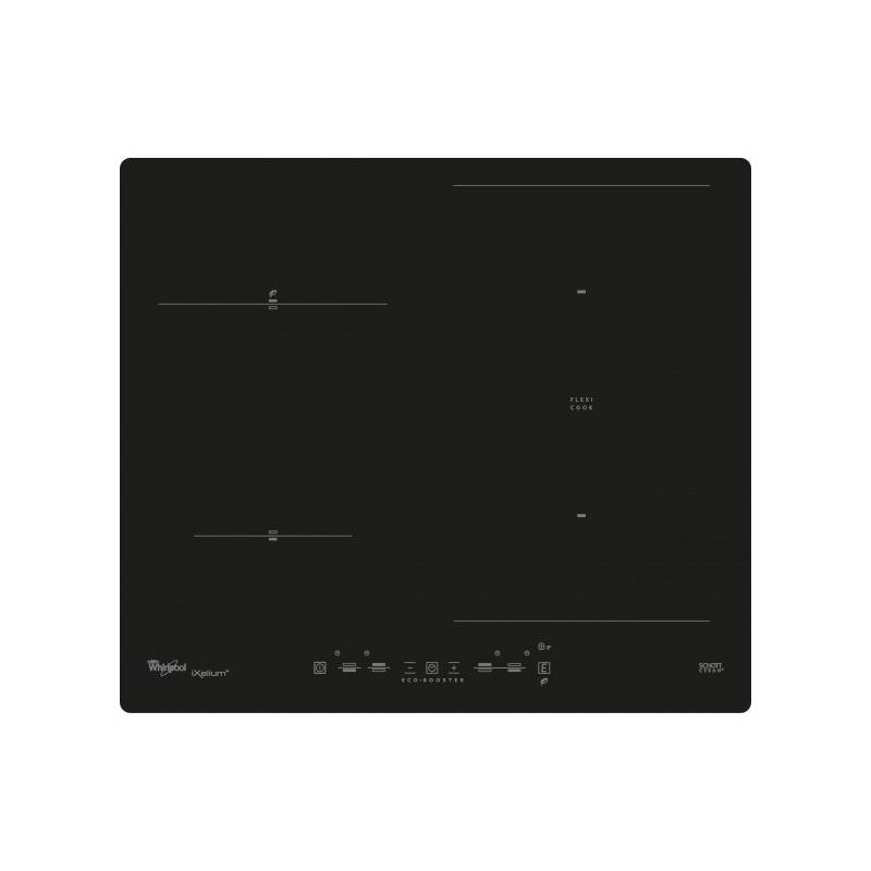 plaque induction whirlpool 2foyers 1 zone modulable 7200w noir. Black Bedroom Furniture Sets. Home Design Ideas