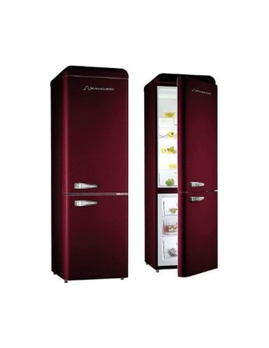 refrigerateur combi schaub lorenz 300l 209l 91l bordeaux a. Black Bedroom Furniture Sets. Home Design Ideas