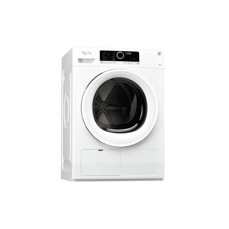 seche linge front whirlpool pompe a chaleur 8 kg a. Black Bedroom Furniture Sets. Home Design Ideas