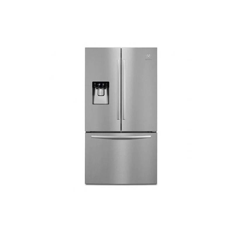 refrigerateur multiportes electrolux 536l 417l 119l nofrost a inox. Black Bedroom Furniture Sets. Home Design Ideas