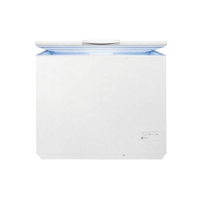 congelateur coffre electrolux 300l a autonomie 32h. Black Bedroom Furniture Sets. Home Design Ideas