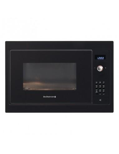 micro ondes de dietrich 38cm 900w 26l noir. Black Bedroom Furniture Sets. Home Design Ideas