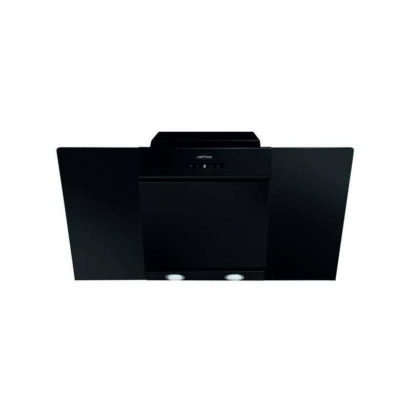 hotte decorative airlux plan incline 679m3 h 63db noir. Black Bedroom Furniture Sets. Home Design Ideas