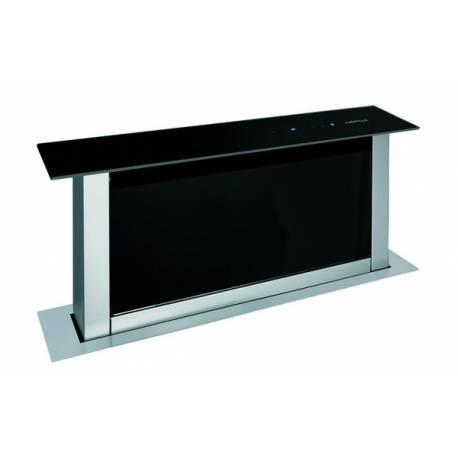 hotte de plan airlux 705m3 h 61db noir. Black Bedroom Furniture Sets. Home Design Ideas