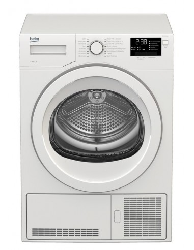 seche linge beko condensation 9kg b blanc. Black Bedroom Furniture Sets. Home Design Ideas