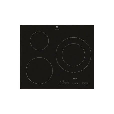 plaque induction electrolux 3 foyers noire. Black Bedroom Furniture Sets. Home Design Ideas