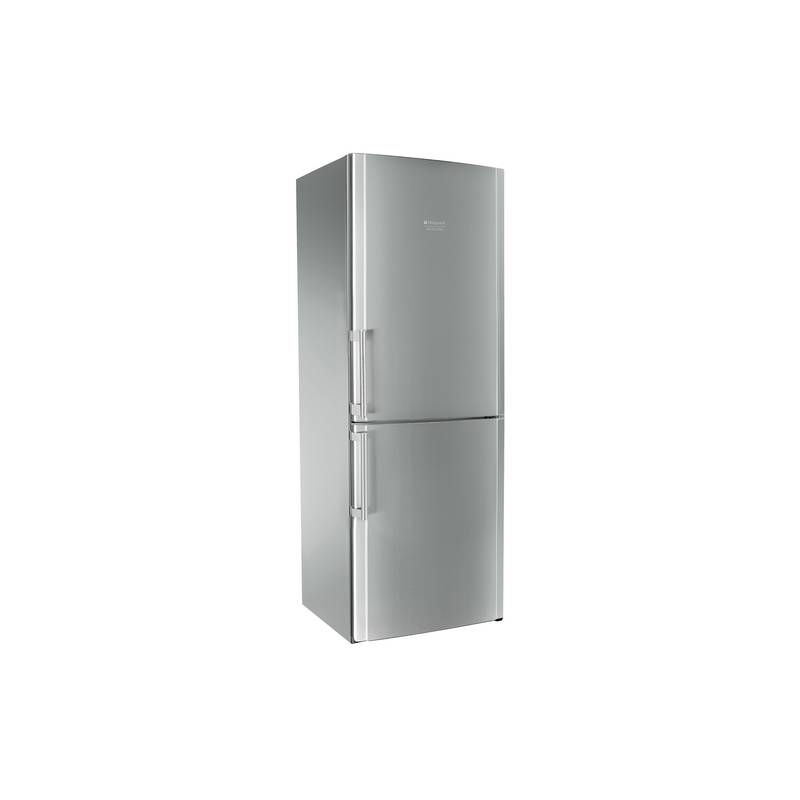 refrigerateur combi hotpoint 450l 302 148 70 cm nofrost a inox. Black Bedroom Furniture Sets. Home Design Ideas
