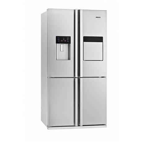 refrigerateur multi portes beko 535l nofrost minibar a inox. Black Bedroom Furniture Sets. Home Design Ideas