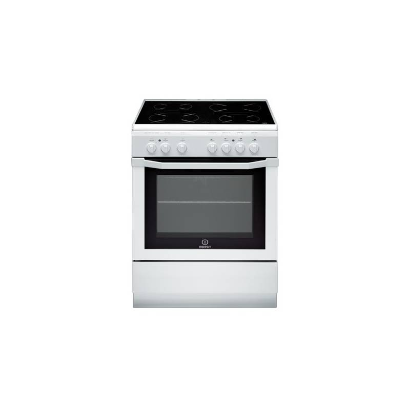 cuisiniere vitroceramique indesit 4 rd catalyse 58l blanc a. Black Bedroom Furniture Sets. Home Design Ideas