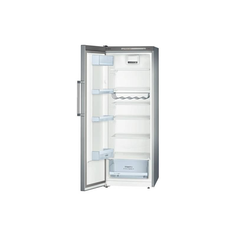refrigerateur sp tout util bosch 290l air brasse a inox. Black Bedroom Furniture Sets. Home Design Ideas