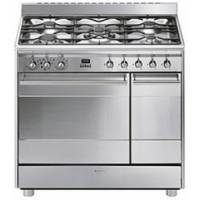 CENTRE DE CUISSON 5G SMEG FOURS 68+27L CATALYSE INOX AA