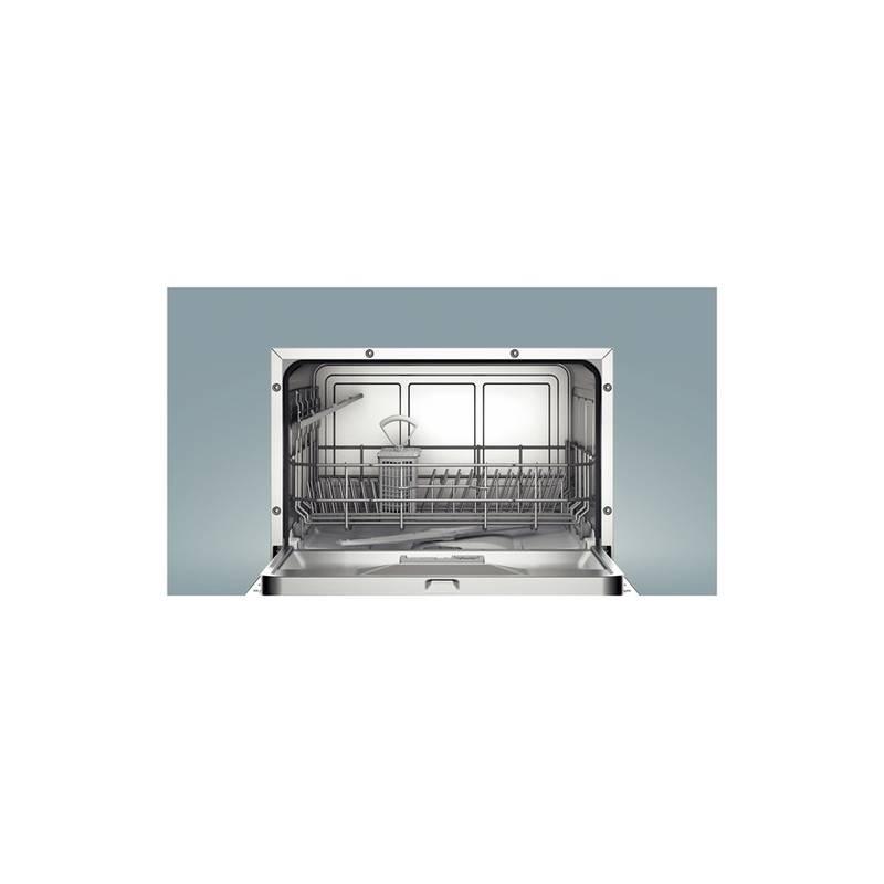 lave vaisselle compact bosch 6 cvts 48 db 8l a a noir. Black Bedroom Furniture Sets. Home Design Ideas