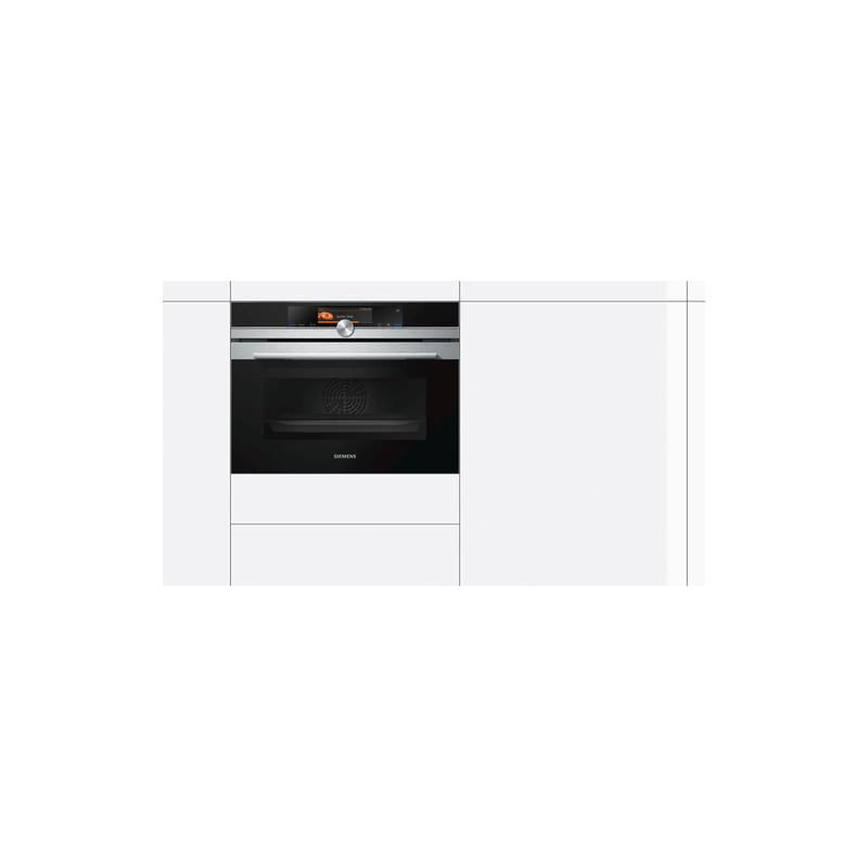 four vapeur 45 cm siemens 47l ecocleanplus inox. Black Bedroom Furniture Sets. Home Design Ideas
