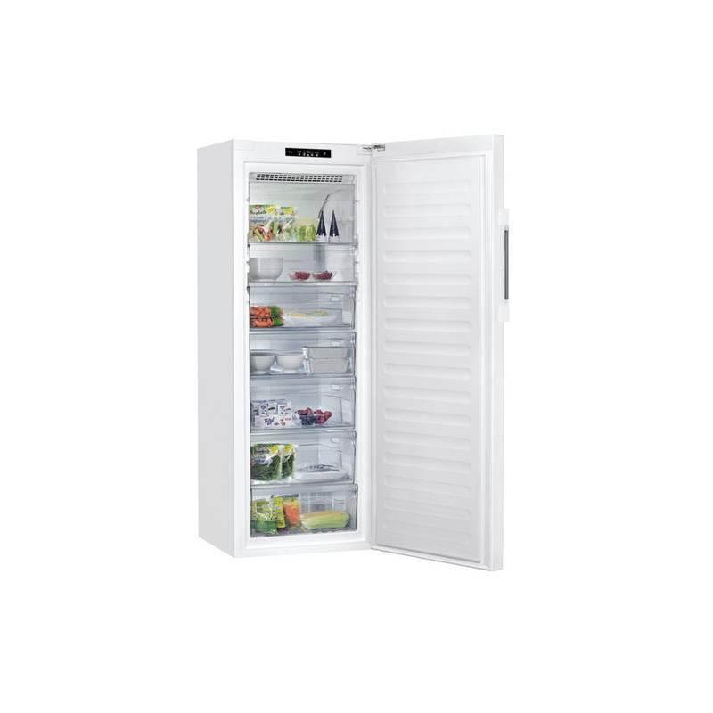 congelateur armoire whirlpool 350l no frost a autonomie 35h. Black Bedroom Furniture Sets. Home Design Ideas