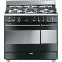 CENTRE DE CUISSON 5G MEG FOURS 72+35L CATALYSE INOX+NOIR BRILLANT A