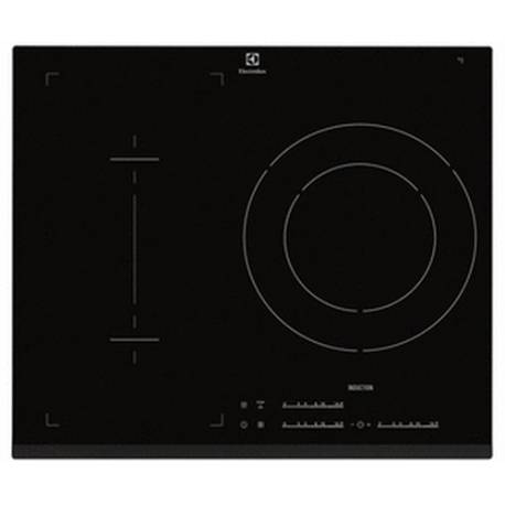 plaque induction electrolux 2 foyers 1 zone modulable noire. Black Bedroom Furniture Sets. Home Design Ideas