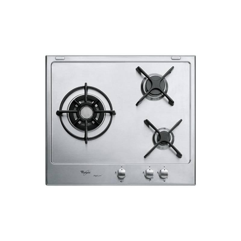 plaque email gaz whirlpool 3g inox ixelium. Black Bedroom Furniture Sets. Home Design Ideas