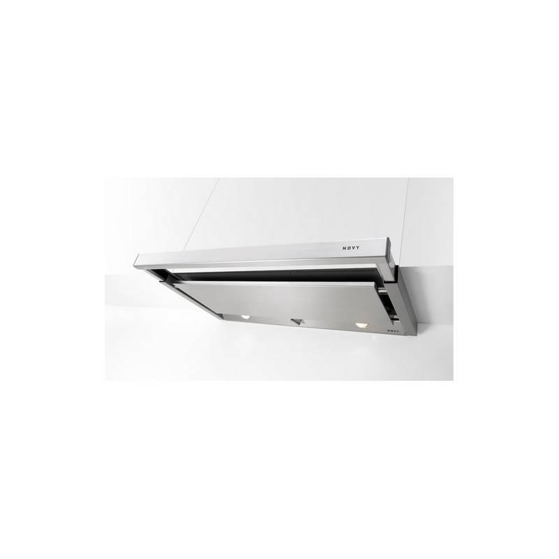 hotte tiroir novy 60 cm 470 m3 h inox. Black Bedroom Furniture Sets. Home Design Ideas