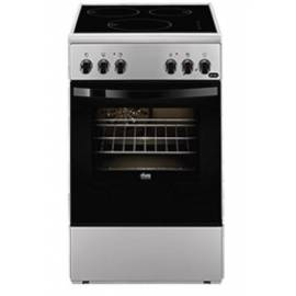 CUISINIERE 50CM FAURE 3 INDUCTION CATALYSE 54L A SILVER