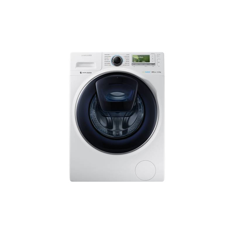 lave linge front samsung 12 kg 1400t a blanc. Black Bedroom Furniture Sets. Home Design Ideas
