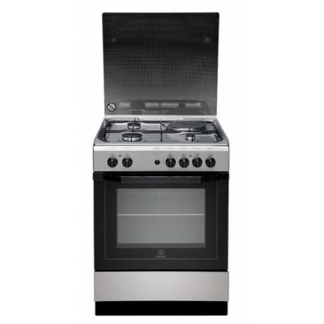 cuisiniere mixte indesit 3g 1e four multifonction 59l catalyse. Black Bedroom Furniture Sets. Home Design Ideas