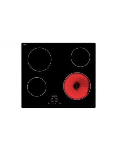 plaque vitroceramique siemens 4 foyers 6600w noir. Black Bedroom Furniture Sets. Home Design Ideas