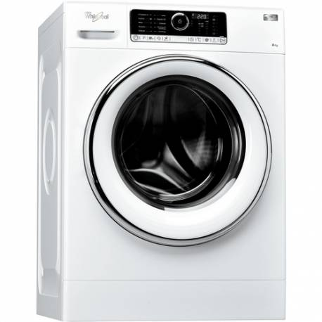 LAVE LINGE FRONT WHIRLPOOL 8 KG 1400T A+++B BLANC