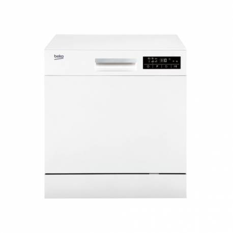 lave vaisselle beko compact 8cvts 49db a blanc. Black Bedroom Furniture Sets. Home Design Ideas