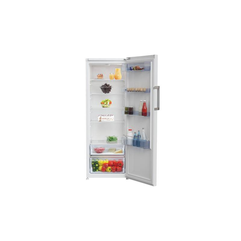 refrigerateur simple porte tout utile 367l air statique a blanc. Black Bedroom Furniture Sets. Home Design Ideas