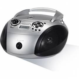 RADIO CD GRUNDIG TUNER DIGITAL PLL MP3 PORT USB SILVER/NOIR
