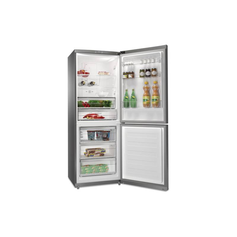 refrigerateur combi whirlpool 70 cm 450l 282l 138l nofrost a inox. Black Bedroom Furniture Sets. Home Design Ideas