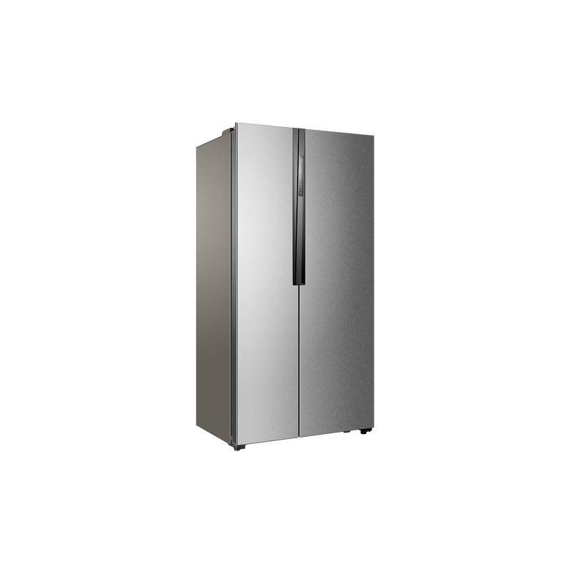 refrigerateur americain haier 518l 341l 177l no frost a inox. Black Bedroom Furniture Sets. Home Design Ideas