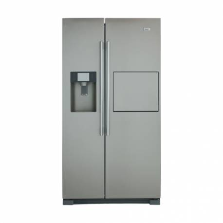 refrigerateur americain haier 550l 375l 175l no frost a inox. Black Bedroom Furniture Sets. Home Design Ideas