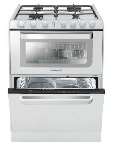 CUISINIERE ROSIERES 4G + LAVE...