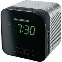 RADIO REVEIL GRUNDIG CUBE FM/PO DOUBLE ALARE LUMINOSITE VARIABLE