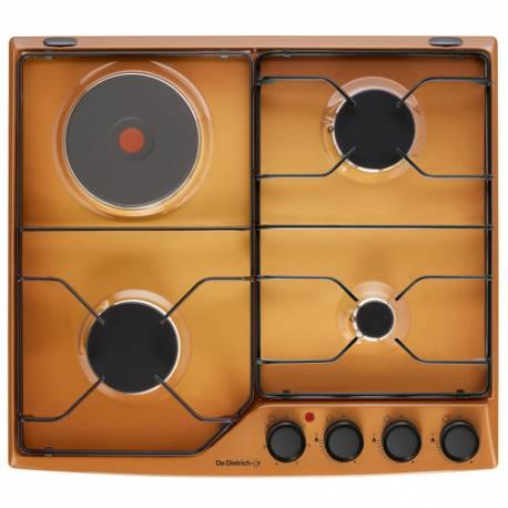 plaque email de dietrich gaz 4 foyers sable. Black Bedroom Furniture Sets. Home Design Ideas