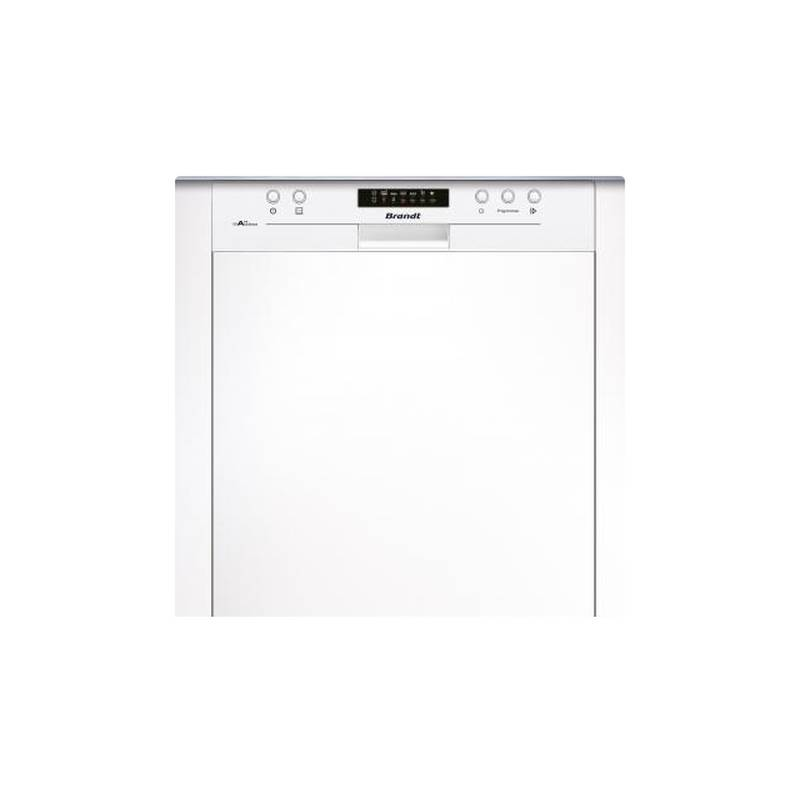 lave vaisselle brandt 13cvts 45db a a bandeau blanc. Black Bedroom Furniture Sets. Home Design Ideas