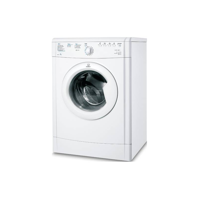 seche linge indesit evacuation 7kg c blanc. Black Bedroom Furniture Sets. Home Design Ideas