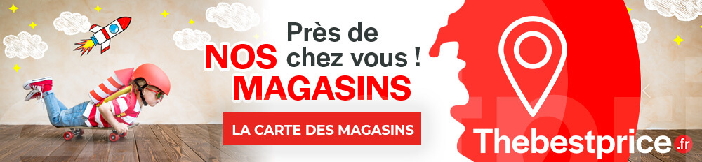 Carte des magasins the best price